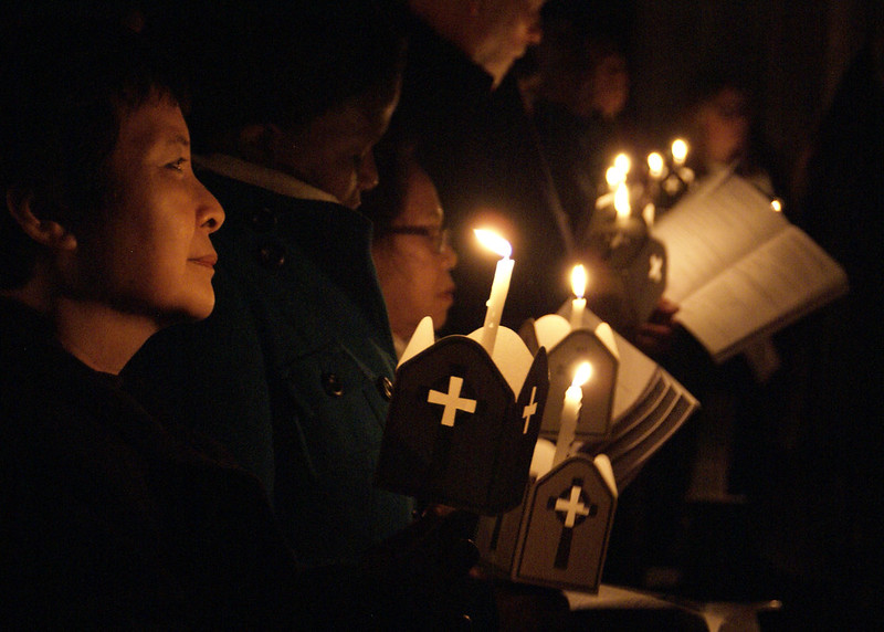 Easter Vigil Norwich 26/03/16
