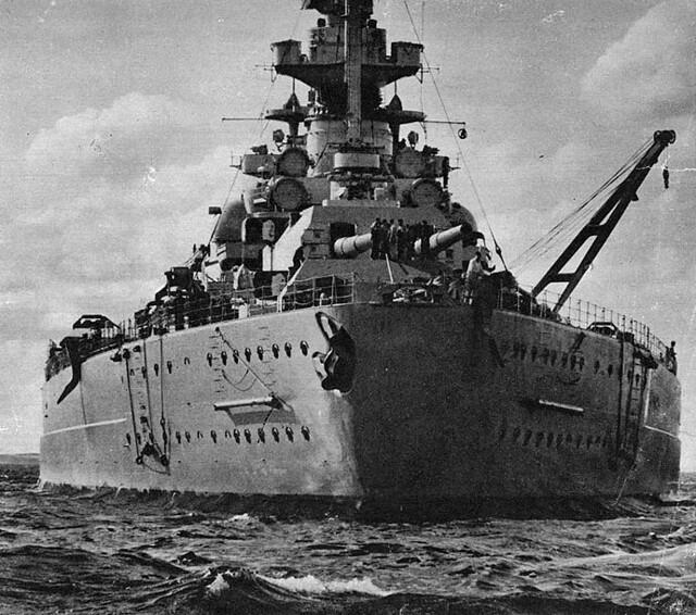 Bismarck's Stern, 1941