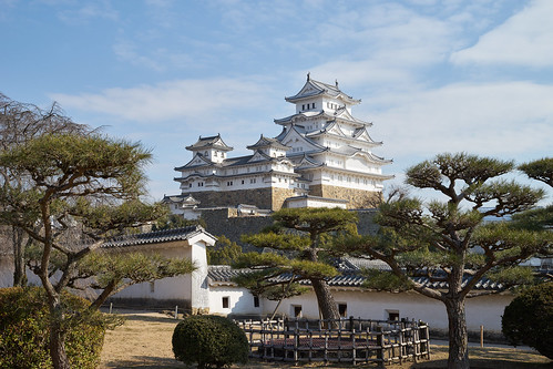 building tree castle japan architecture zeiss landscape japanese 50mm sony e 日本 himeji f2 50 worldheritage himejijo 姬路城 carlzeiss a7ii 国宝 世界遺產 loxia 白鷺城 世界文化遺產 a7m2 loxia250 ilce7m2 第一名城