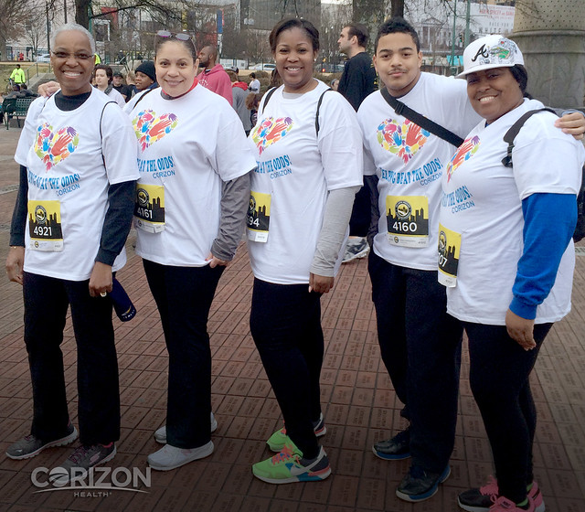 Fulton County, Georgia team participates in 5k 'Race to End Homelessness'