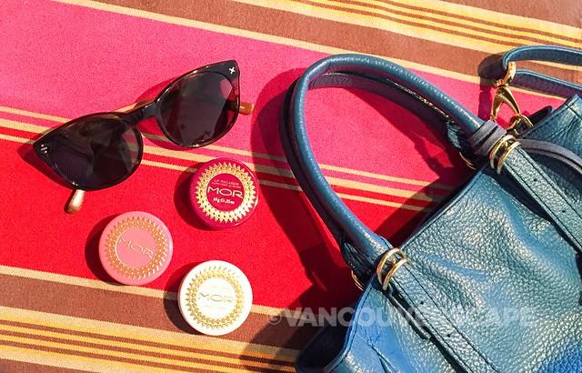 MOR Lip Macarons: Passionflower, Rosebud, French Vanilla
