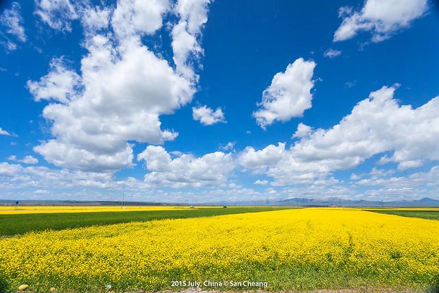 往哈蓋爾草原的路上