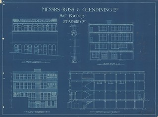 Ross and Glendining Hat Factory plan 1918