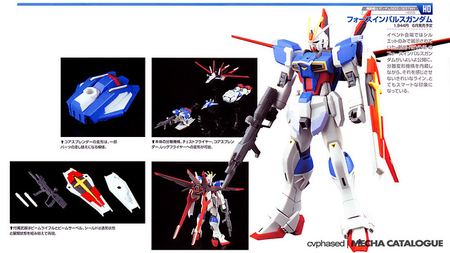 HGCE Force Impulse Gundam - Colored Prototype Shots