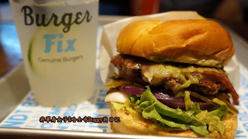 台北東區Burger Fix美式漢堡30
