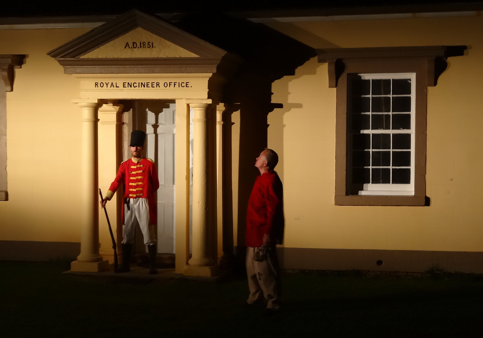 Sound and Light Show on Norfolk Island telling tales of the convict era. Image credit denisbin
