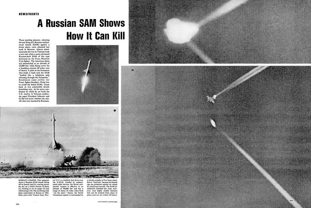 LIFE Magazine August 6, 1965 (7) - A Russian SAM Shows How  It can Kill