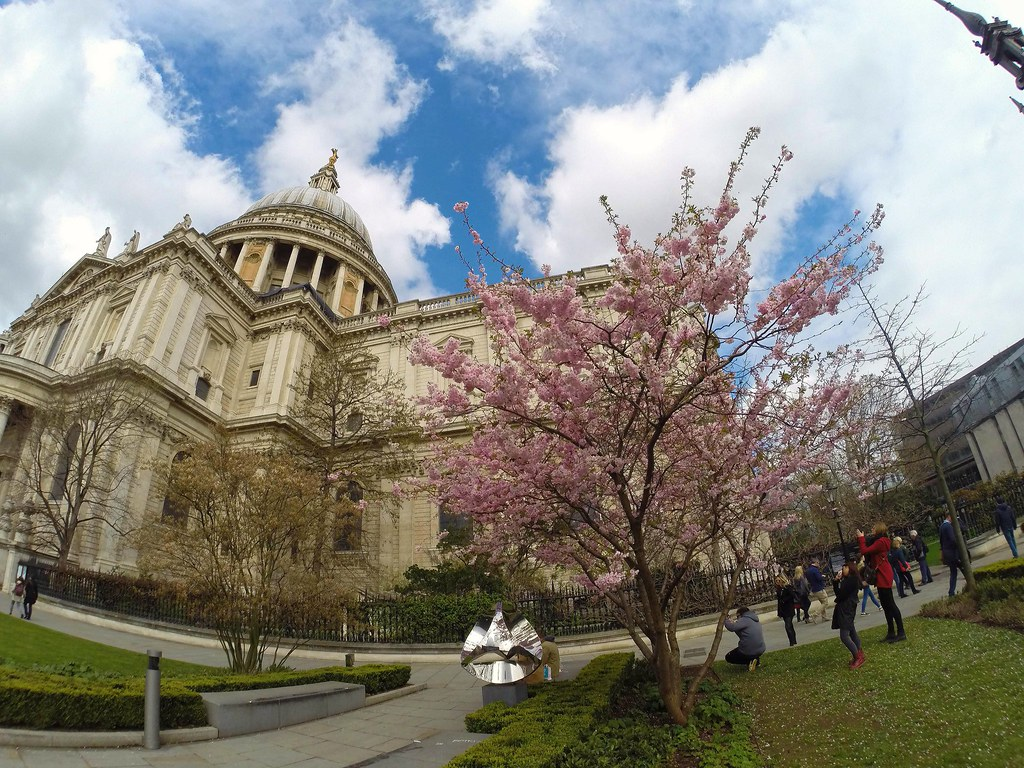Saint Paul's Cathedral, London. 9 April 2016.