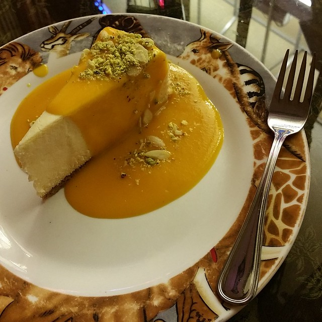 2016-Apr-19 - Simba's Grill - Lamu Cheese Cake
