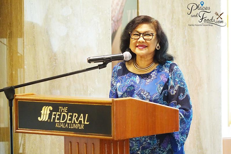 airasia x my ecolodge launch event tan sri rafidah aziz