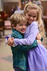 Everett & Violet In Church