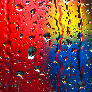 coloured rain