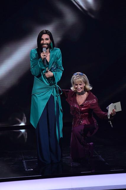 Conchita + DagmarKoller