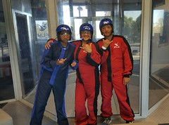 Had a great time flying today (indoor) haha! ☺✈ #iFly #indoorflying #skydiving #indoorskydiving