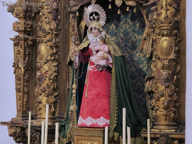 Ntra. Sra. del Rosario, en la Pascua