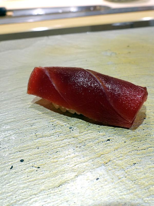 Sushi Iwa Ginza- Maguro (Tuna)