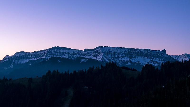 Dawn at the Schrattenfluh - Rämisgummen