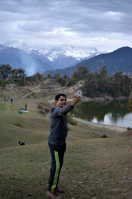 Selfie-Sai at Deoriatal