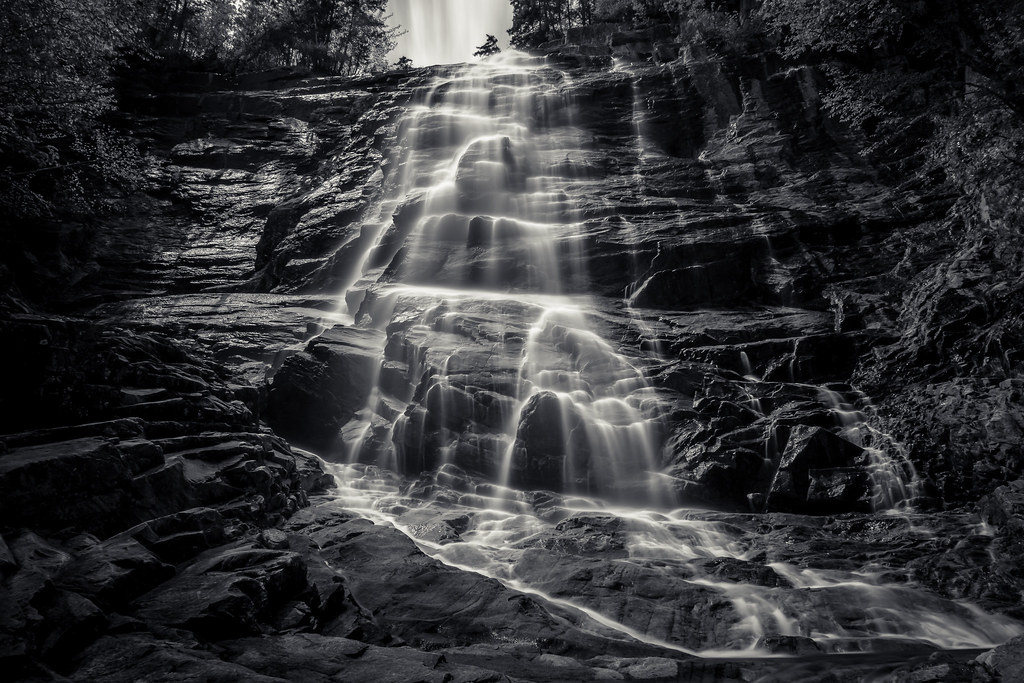 cascade of light