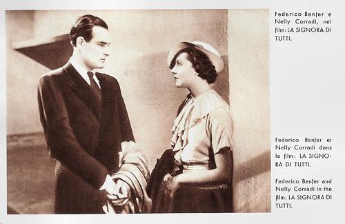 Enrico Benfer and Nelly Corradi in La Signora di tutti (1934)