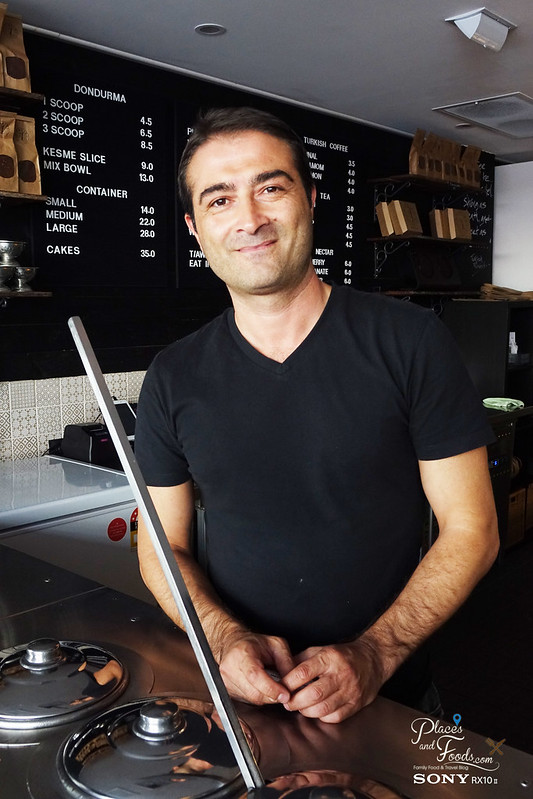hakiki turkish ice cream sydney owner