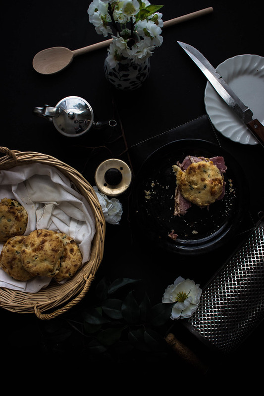 Cheddar & Chive Buttermilk Biscuits // TermiNatetor Kitchen