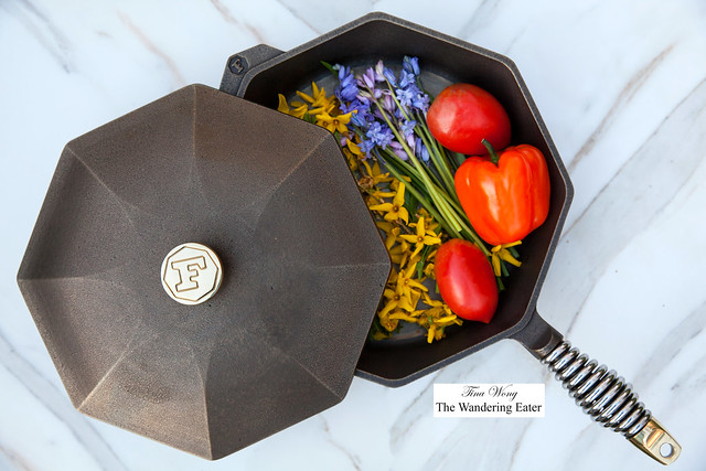 Finex 12-inch Cast Iron Pan with Lid