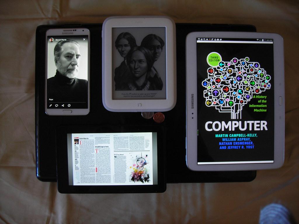Devices | Samsung Note 3, Nook Glowlight, Samsung Galaxy Tab… | Flickr