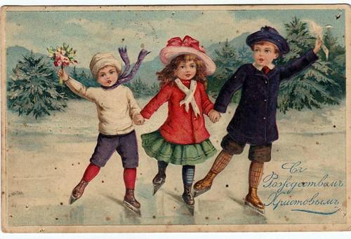 Старі різдвяні листівки 03