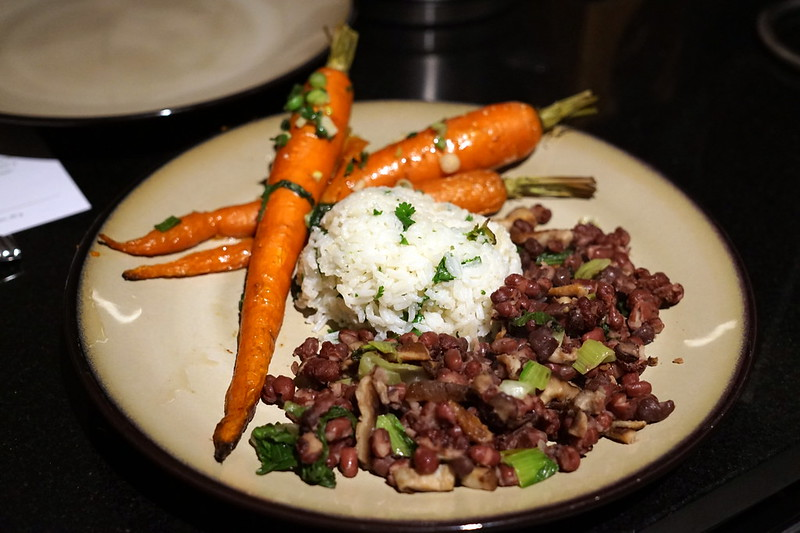 Purple Carrot - Roasted Carrots and Cilantro Basmati