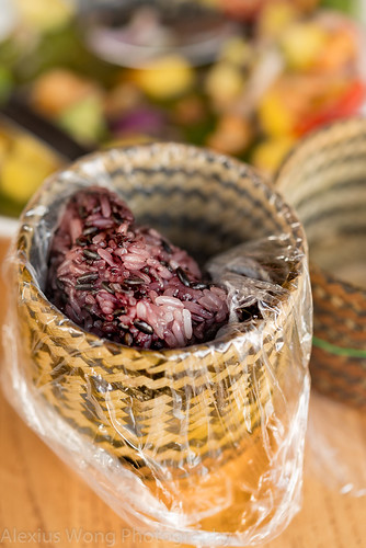 Steamed Purple Glutinous Rice