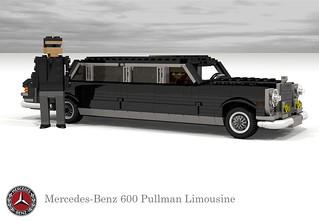 Mercedes-Benz 600 Pullman (W100)