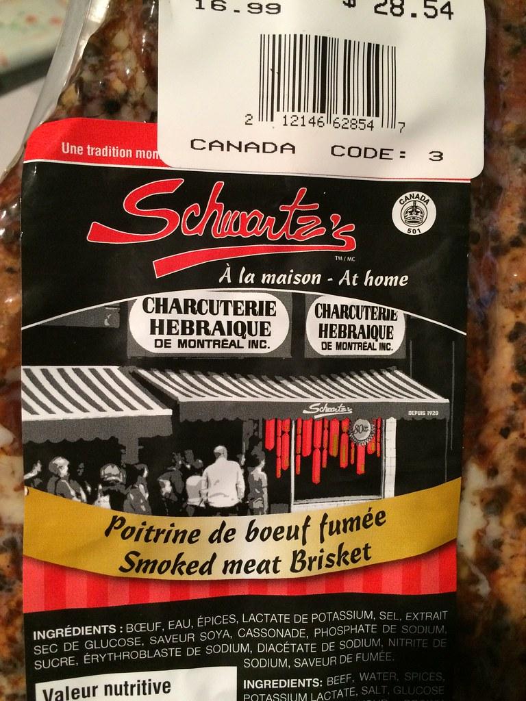 Schwartz's Smoked Meat Now at Costco - RedFlagDeals com Forums