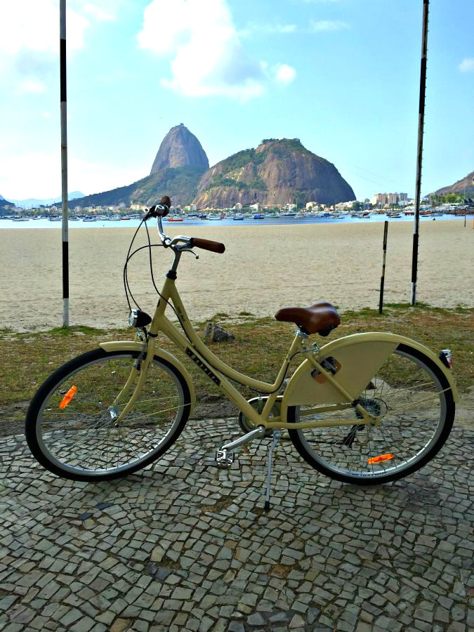 Bike ride in the Flamengo Area of Rio