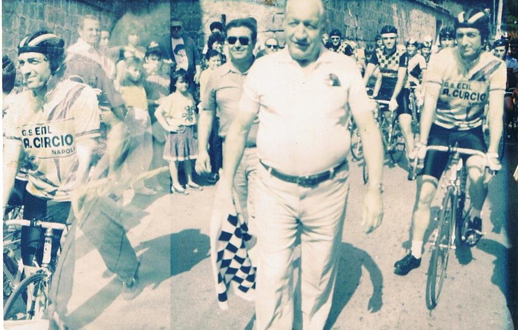 Circuito di Tuoro - Gino Bartali ospite d'onore nel 1977 (foto inviata dal sig. Amedeo Marzaioli)