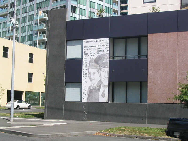 Site of old South Melbourne depot, January 2006