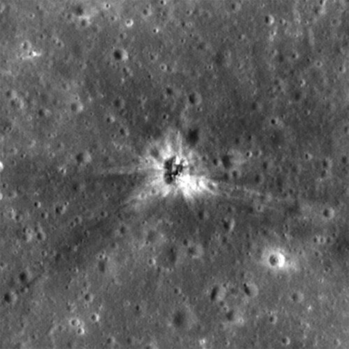 Lugar del impacto de S-IVB de Apolo XVI