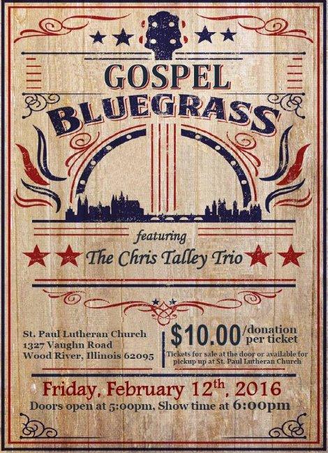 Chris Talley Trio 2-12-16