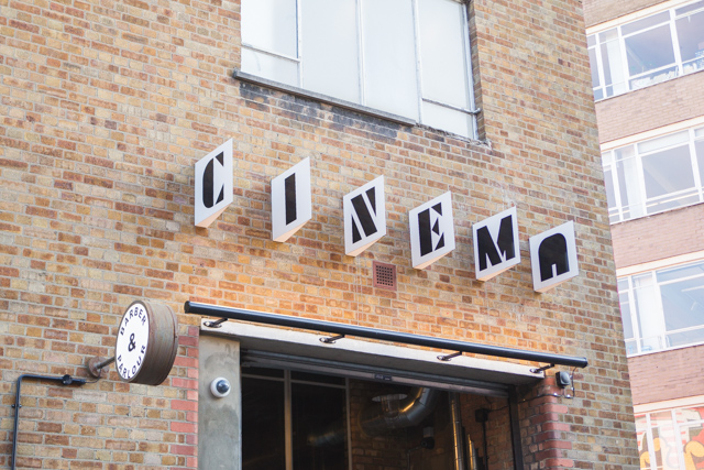 Electric cinema Shoreditch