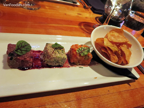 Surf and Turf Tartar Trio
