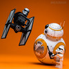 BB-8 : Riding the RC Tie Fighter.