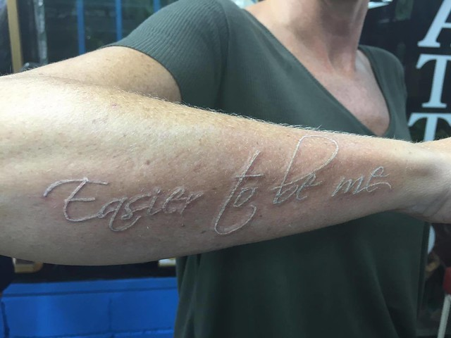 Tattoo - easier to be me