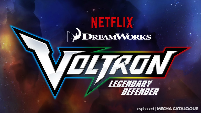 VOLTRON Legendary Defender - Logo Revealed