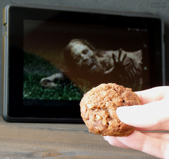 Zombie Apocalypse Chocolate Cookies
