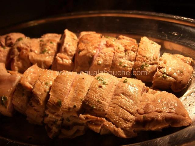 Filets Mignons aux Champignons à la Crème © Ana Luthi Tous droits réservés 04