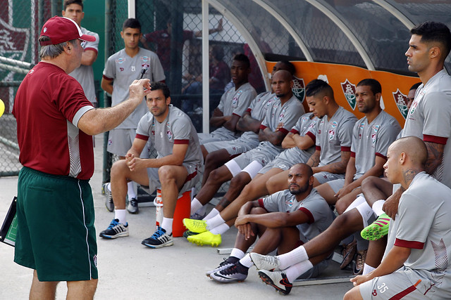 Fluminense: De olho no Criciúma, Levir Culpi comanda treino tático nas Laranjeiras