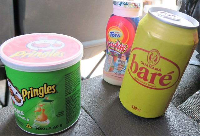 guarana bare cola and pringles