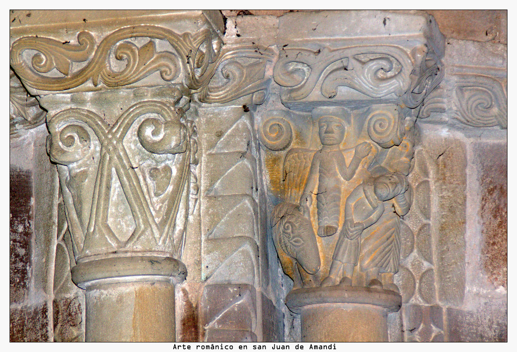 Arte románico en san Juan de Amandi