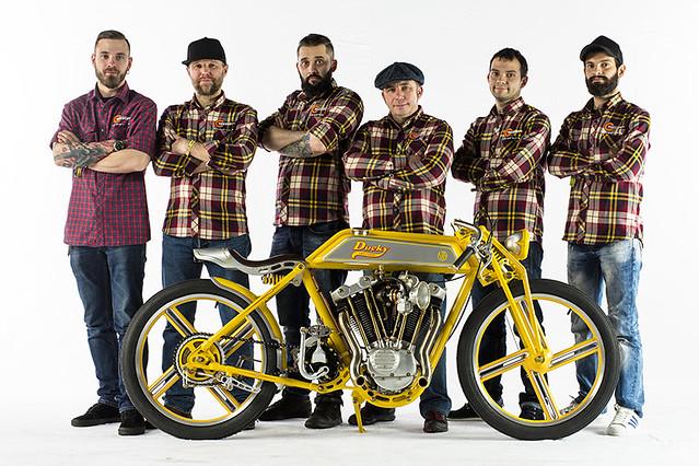 Yuri Shif Custom - кастом-мотоцикл DUCKY