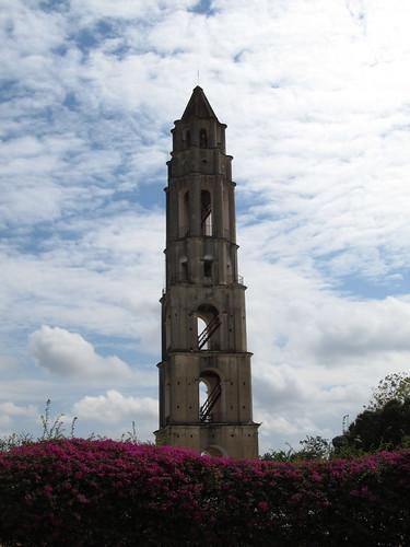 La Valle de los Ingenios: la plus haute tour servant à surveiller les esclaves dans les champs de canne à sucre